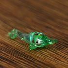 """Сувенир стекло микро """"Рыба сом"""" 0,5х2,3х1,2 см"""
