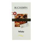 """Шоколад """"Bucheron"""" белый с миндалем, клюквой и клубникой в картоне 100 гр"""