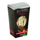 """Шоколад """"Bucheron Mini"""" горький с фундуком, мятой и кайенским перцем 171 гр"""