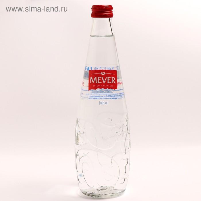 Вода минеральная MEVER не газированная стекло 500 мл