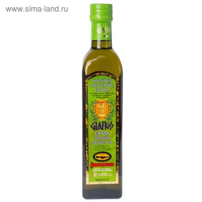 Оливковое масло Glafkos extra virgin 500 мл (Греция)