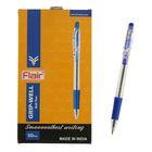 Ручка шариковая автомат Flair Gripwell резиновый упор,0.7мм, масляная основа, стержень синий F-735