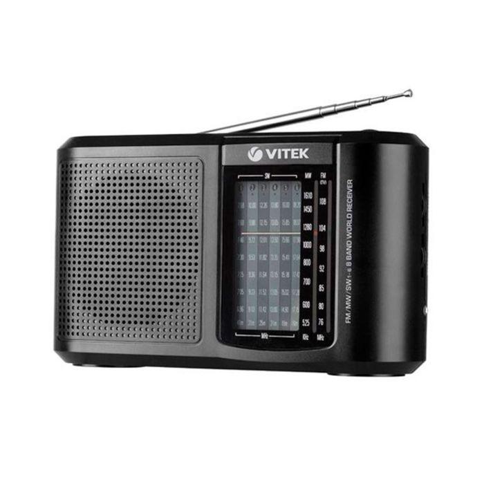 Радиоприёмник Vitek VT-3590 BK   FM/MW/SW, черный