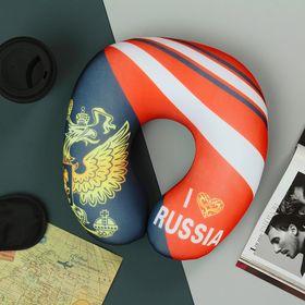 Подголовник-антистресс 'Я люблю Россию' Ош