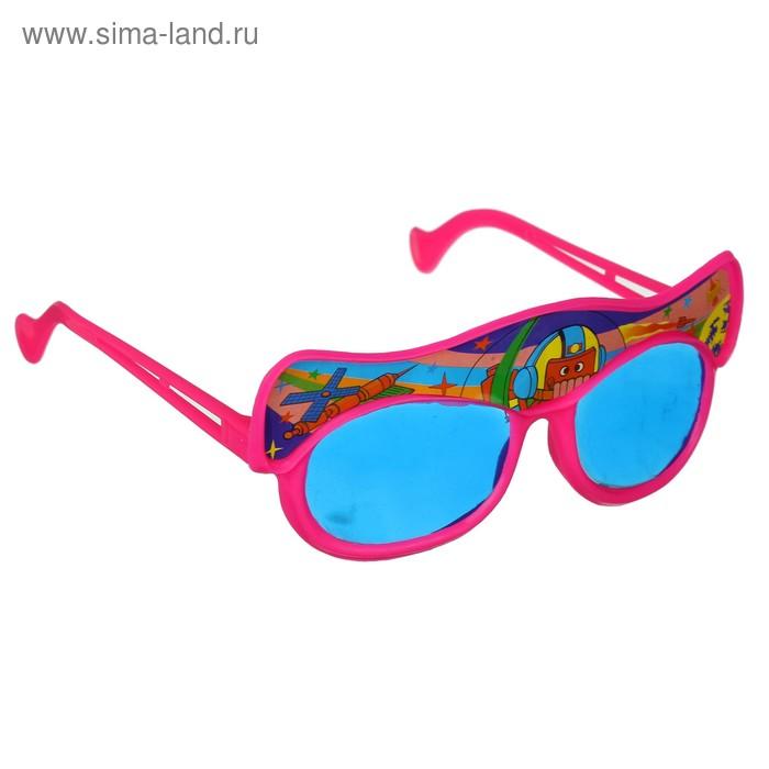 """Карнавальные очки детские - открывашка """"Море"""", цвета МИКС"""