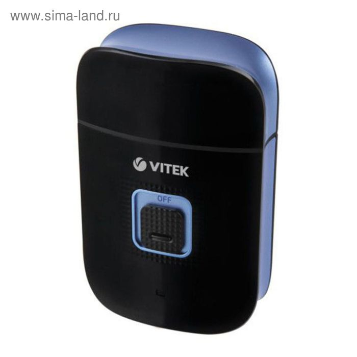 Электробритва Vitek VT-2374 BK, черный/синий