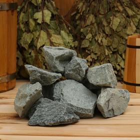 Камень для бани 'Gabbro-diabase', коробка 20 кг Ош