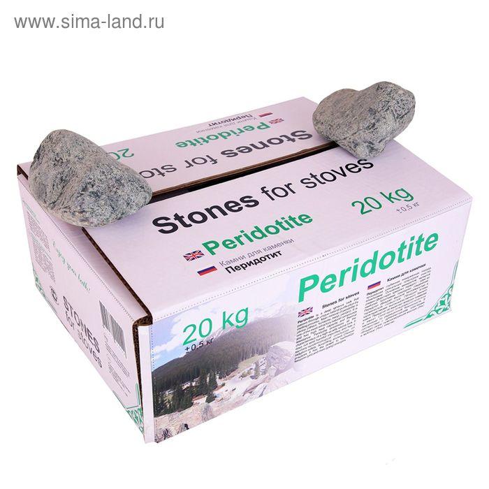 "Камень для бани ""Peridotite"", коробка 20 кг"