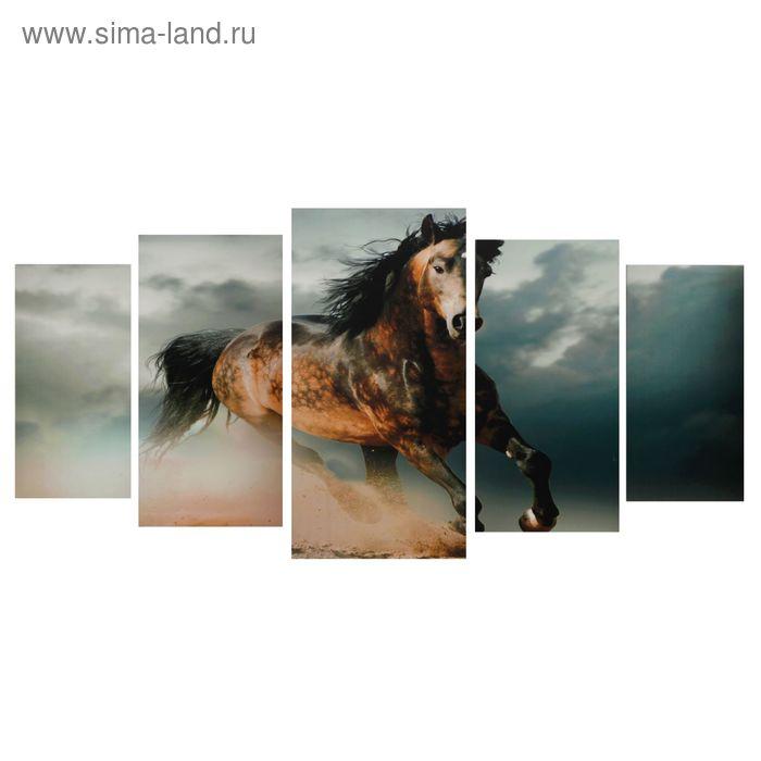 """Модульная картина на подрамнике """"Грация"""", 2 — 40×80, 2 — 50×100, 1 — 60×120, 120×250 см"""