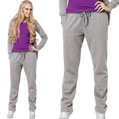 Брюки женские StanStepWomen, размер 46, цвет серый меланж 280 г/м 50W