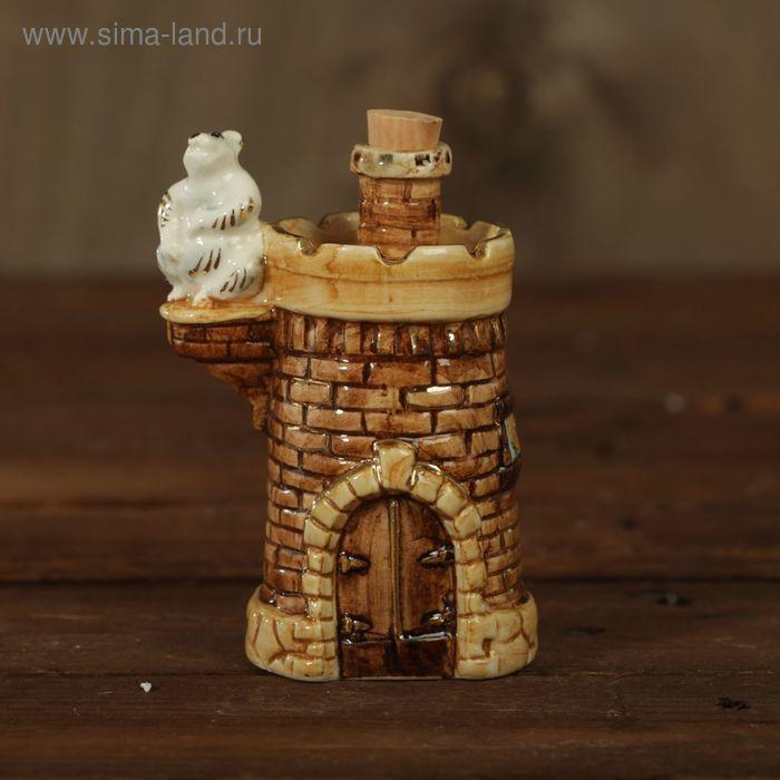 """Мини-штоф фарфор """"Башня"""" 50 мл"""