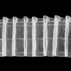 Лента шторная с эффектом люверсов, 100мм, 50±1м, цвет белый