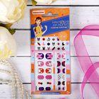 Наборы для творчества от BONDIBON и EVA MODA, наклейки на ногти Любимые животн-2, арт 6983