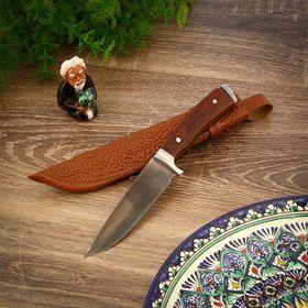 Охотничий нож Шархон, прямой, рукоять из текстолита Ош