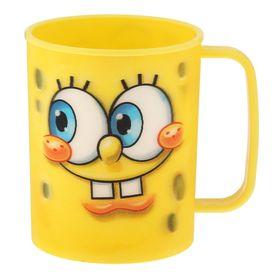 Кружка 3D 325 мл 'Губка Боб', цвет жёлтый Ош