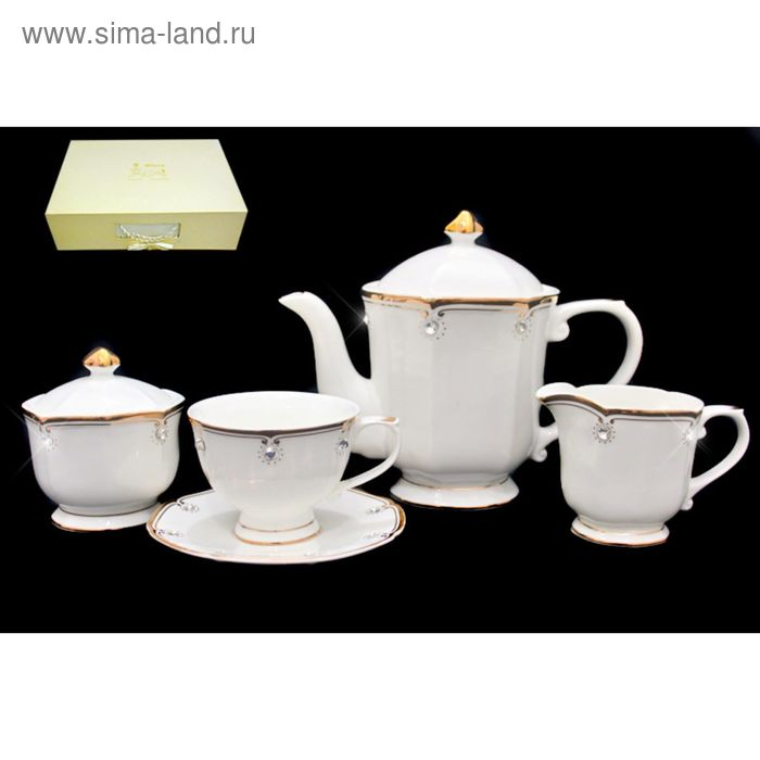 Чайный сервиз 17 предметов, в подарочной упаковке