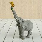 """Сувенир """"Слон с ромашками"""" 12х6,5х18 см"""