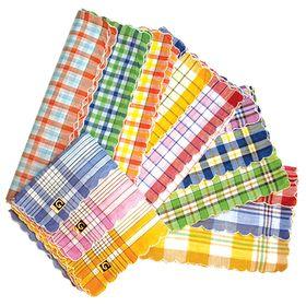 Набор женских носовых платков в пакете (12шт) ЭТНИКА, Арт.45466л, 28х28, х/б