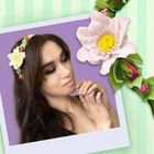 """Набор для создания ободка из фоамирана """"Цветок Анемона"""""""