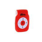 MP3 плеер RITMIX RF-1015, MIcroSD до 16Гб, клипса, световая индикация, красный