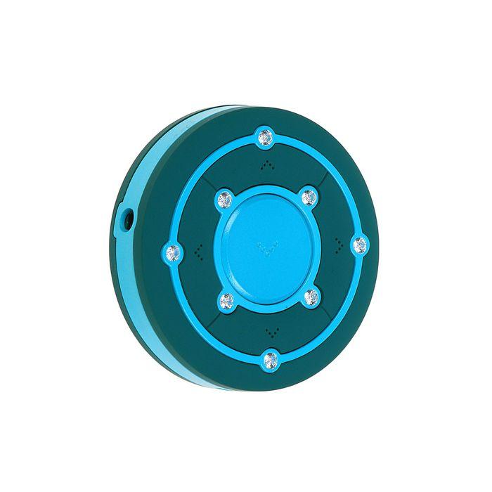 MP3 плеер RITMIX RF-2850 8Gb, клипса, Swarovski Zirconia, card slot, зеленый