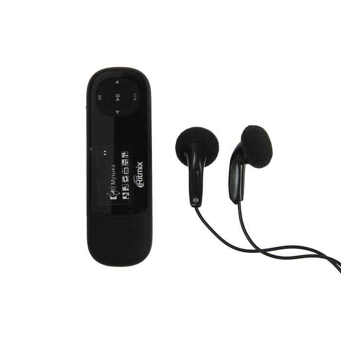 MP3 плеер RITMIX RF-3450 8Gb, ЖК- дисплей, TXT, FM, диктофон, TF card slot, черный