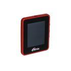MP3 плеер RITMIX RF-4150 4Gb, дисплей, AVI/JPEG/TXT, FM, диктофон, card slot, бордовый