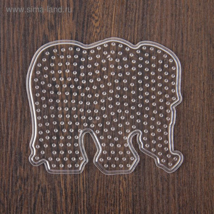 """Основа для термоаппликации """"Слон"""" размер 10,2*9,3 см"""