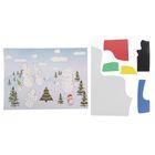 "Аппликация - открытка 3D ""Снеговики"" из ЕVA"