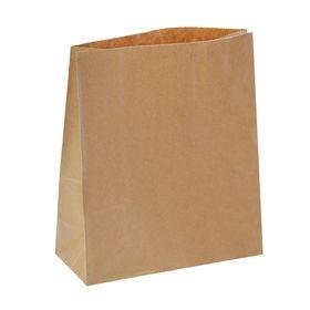 Пакет крафт без печати, 29 х 25 х 11 см