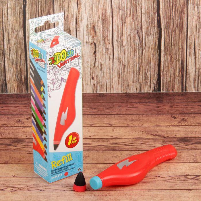"""Картридж для 3Д-ручки """"Вертикаль"""", цвет красный"""