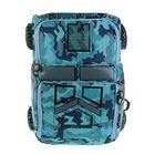 Рюкзак школьный для мальчика Centrum 43*32*18, серый/голубой 87787