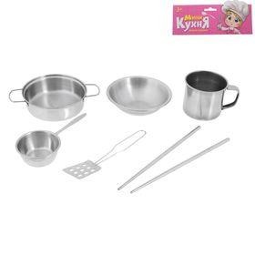 """Набор металлической посуды """"Повар"""", 6 предметов"""