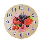 "Часы ""Лесные ягоды"" круглые, Ø 25 см"