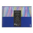 Альбом для акварели хлопок + целлюлоза A4 210*297 Fabriano Studio Torchon 12 листов 300г , гребень, торшон 17662129
