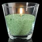 Свечной песок зелёный 0,1кг