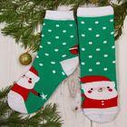 """Носки детские """"Дед Мороз"""" 14-16 см, 3-4 г., 80% хл.,17% п/э, 3% эл."""