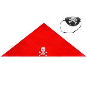Набор пирата, бандана 50 × 50 см