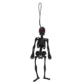 """Прикол резиновый """"Скелет"""", цвет черный"""