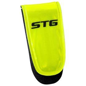 Катафот велосипедиста STG 49011 на липучке, 3 красных диода Ош