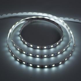 Светодиодная лента 12 В DC, 60SMD5050, 5 м, IP20, 14,4 Вт/м, холодный белый
