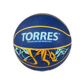 Мяч баскетбольный сувенирный Torres Jam, B00041, размер 1 Ош