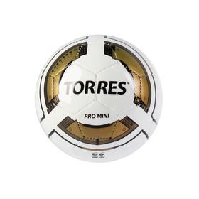 Мяч футбольный сувенирный Torres Pro Mini, F30010, размер 0 Ош