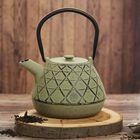 """Чайник с ситом 1 л """"Ламис"""", цвет зеленый"""