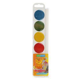 Акварель карамельная GASPAR, 6 цветов, в пластиковой коробке, без кисти Ош