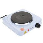 Плитка электрическая Ampix AMP-8004, чугун, 1000 Вт, d = 15.5 см, белый