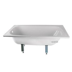 Ванна ANTIKA ЭКОНОМ, cтальная, эмалированная, белая, ножки в комплекте, 150х70 см