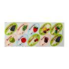 Набор цветных этикеток для домашних заготовок из ягод и фруктов 30 шт, 6 х 3,5 см