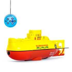 Подводная лодка радиоуправляемая 'Гроза морей' , световые эффекты Ош
