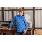 Водолазка для мальчика, рост 146 см, цвет голубой CAJ 61164